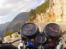 Honda CBX1000 von Pego nach Vall de Ebo - MEGA Sound, geile Strecke