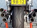 Honda CBX Sechzylinder - bisschen was auf die Ohren