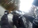 Honda Crash - Wheelie, Lenkerschlagen, Abflug, Glück gehabt