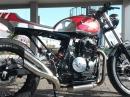 Honda Dominator Umbau - Louis Bike Special - Mega Eisen