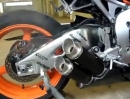 Honda Fireblade SC59 CBR1000RR mit Bodis Slip On Auspuffanlage
