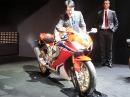 Honda Fireblade SP - Soundcheck auf der Intermot via MCN