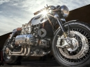 """The """"Porsche 911"""" Honda GL1000 GOLDWING CafeRacer by DS Motorcycles"""