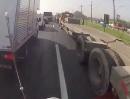Honda Hornet KLE621 mit Vollidiot am Lenker (Brasilien). Der Junge hat den Arsch offfen ...