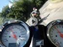 Honda Hornet vs Suzuki 750 Srad - Gaskrank unterwegs