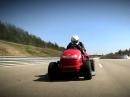 Honda Mean Mower schnellster Rasenmäher der Welt - 187,6km/h