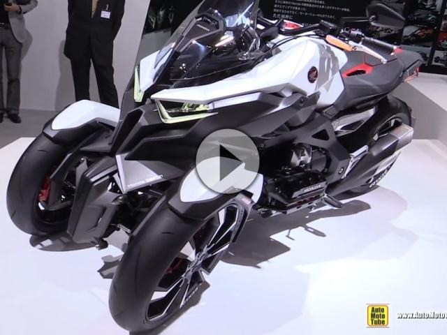 Honda Neowing Concept Bike - Walkaround Tokyo Motorshow 2015