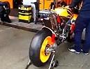 Honda RC213V 2012 Warm Up Jerez Scheiß auf Tinitus - Boxen auf - Noppenanzug