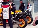 Honda RC213V MotoGP WarmUp GP Frankreich 2013 - Aufgedreht und zugehört