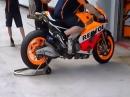 Honda RC213V - Warmup Sepang 2014 Boxen Terror