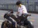 Honda RC213V WarmUp - WARUM Ohrenschützer?