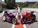 Honda RC30 vs. Ducati V4R - Vergleich via MCN
