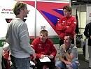 Honda SBK Monza 2012: Aaron Slight und Carl Fogarty bei der Superpole