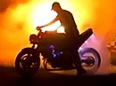 Honda VFR 705 zum Burnout Monster - Construction of shadow