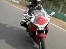 Sporttourer Honda VFR1200F in Action