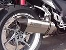 Honda VFR1200F mit Akrapovic Auspuffanlage