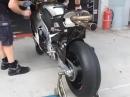 Honda von Scott Redding - Angerichtet für den Sepang-Test