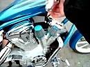 Honda VT300CX Leicht modifizierte Handa Fury
