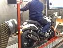 Horex VR6 Roadster auf dem Prüfstand von MKM Bikes - 152,4 PS