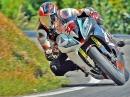 Horice onboard Roadracing, Murtanio geht steil! Yamaha R6 nach hinten gefilmt!