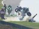 Horror Crash: Motorräder Kernschrott, Fahrer haben NICHTS - Top Schutzengel