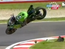 Horror Highspeed Crash Loris Baz Superpole (SBK-WM) Imola 2013 Totalzerleger
