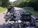 Horror: Wenn der Kollege in den Gegenverkehr rauscht :-( Beinah Crash