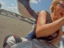 Horst Hoffmann vs. Actioncam Rollei 5S onboard Stuntshow