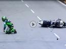 Horst Saiger Crash Macau 2016 - alles gerichtet und Platz 6 - Hut ab!