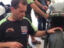 NW200: Horst Saiger erklärt den Reifen und Material Einsatz