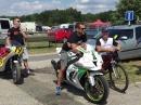Horst Saiger in Terlicko - Ankunft - erster Event nach seinem Crash