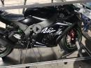 Horst Saiger - Kawasaki ZX-10RR unboxing Einsatzmotorrad für 2017