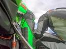 Horst Saiger Manfeild onboard bei den Suzuki Series 2014