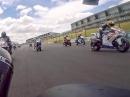 Horst Saiger onboard, Hampton Downs F1 - erste Runde Bäämm