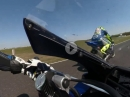 Horst Saiger onboard Pannonia Ring mit iXS Yamaha R1 Superbike