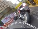 Horst Saiger onboard Rennen Macau 2012 - Abbruch wegen Regen