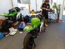 Horst Saiger TT 2013 Homebase: Das Beste ist grün