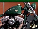 House of Flames Jever Harley Custombike - wird von Jever verlost