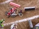 Houston 1 - 450SX 2021 Highlights Monster Energy Supercross, Justin Barcia vor Ken Roczen
