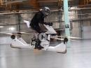Hoverbike Scorpion-3 - Motorrad Quadrocopter - und er fliegt!