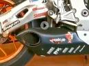 Hurricane Auspuffanlage Soundcheck an Honda CBR 1000RR Fireblade