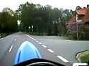 Husaberg Fun - Eine Runde um den Block - auf dem Hinterrad
