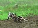 Ich hab nen Frosch geknutscht ! Motocrosscrash