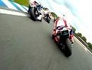 IDM Superbike 2012 Lauf1 in Oschersleben - Zusammenfassung.