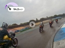 IHRO Race2 - Hockenheim Classics 2016 - Wet Race - Yamaha RD 250