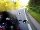 Flott im Salzburger Land mit der Honda Fireblade CBR929RR