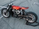 Indian Scout Bobber Cafe Racer Umbau von Luuc Muis Creations