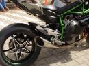 Dreckig, laut, unanständig geil - Kawasaki Ninja H2R beim durchatmen