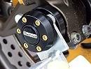 Innovative Gabel- und Schwingenschützer mit Montageständeraufnahme
