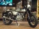 "Intermot live umgebaut Kreidler Dice ""Show your Courage e.V."" Garage Area"